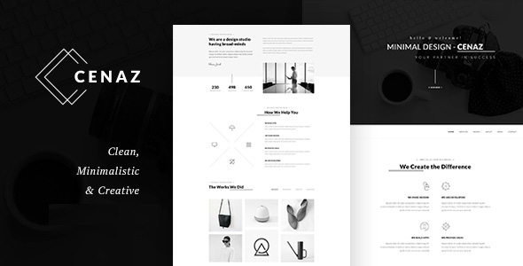 CEZAN – Minimal Multipurpose WordPress Theme