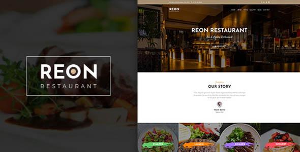 Reon – Restaurant WordPress Theme
