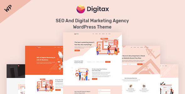 Digitax – SEO & Digital Marketing Agency WordPress Theme